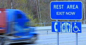 rest area trucking